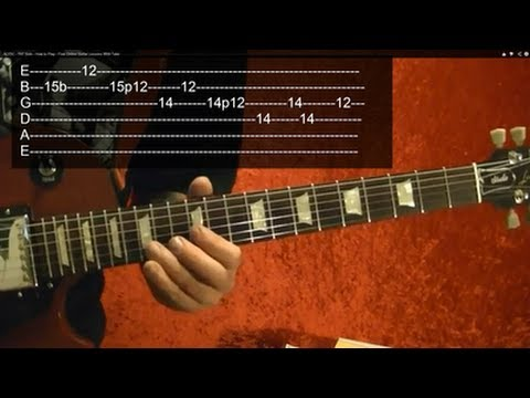 RAMBO: FIRST BLOOD Guitar Lesson Theme ( video 2 of 2 ) WITH TABS