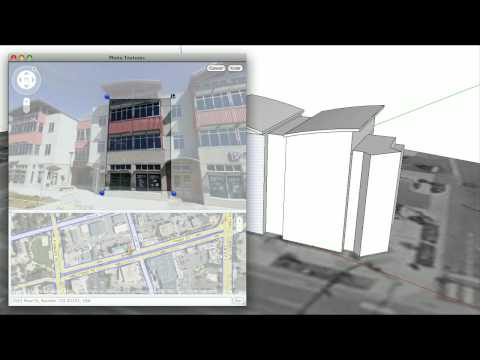 Modeling in Context: New Features in Google SketchUp 7.1