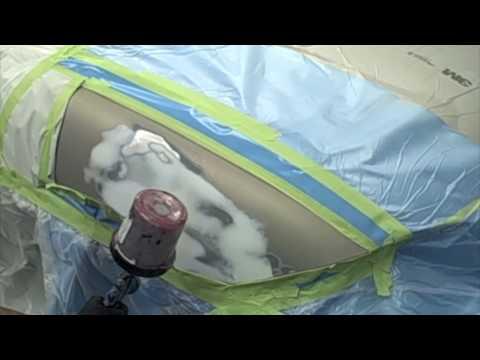 DIY Auto Body - How To Spray Epoxy Primer - Refinish Training - HD YouTube Video