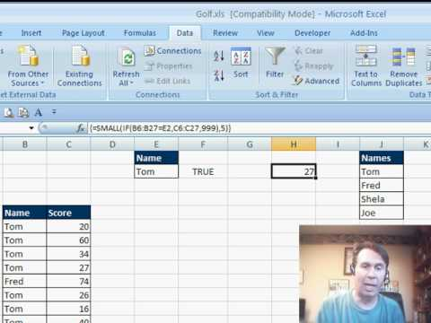 Mr Excel & excelisfun Trick 8: Top 10 Filter Trouble