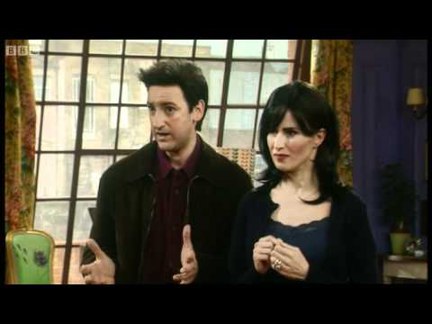 Friends spoof: Not 'that' wall - Alistair McGowan - BBC