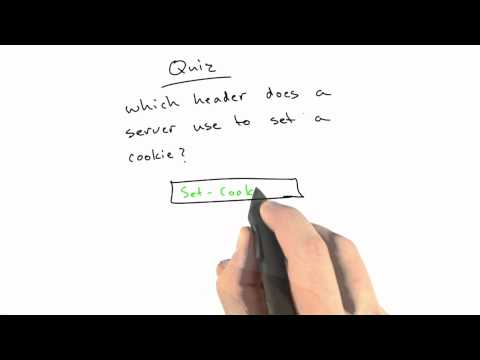 Setting Cookies Solution - CS253 Unit 4 - Udacity