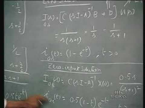 Lecture 47 State Variable Methods (3)