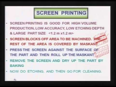 Mod-01 Lec-24 Advanced Machining Processes