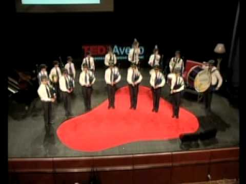 TEDxAveiro - Bagpipes Band of Saint Bernard