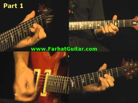 In the Flesh - Pink Floyd Part 1 Guitar Cover   www.farhatguitar.com