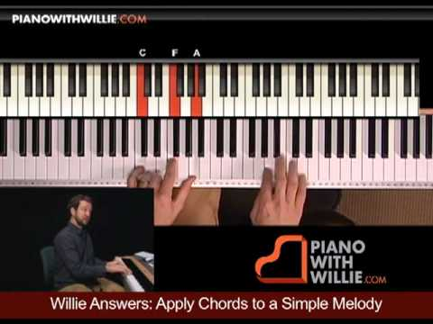 Willie Answers 3: Apply chords to a simple melody pt 2