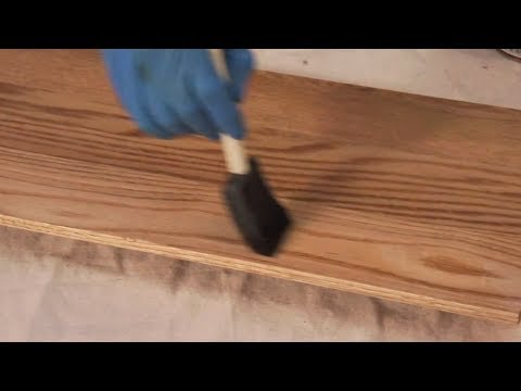 How to Stain and Finish Wood Projects