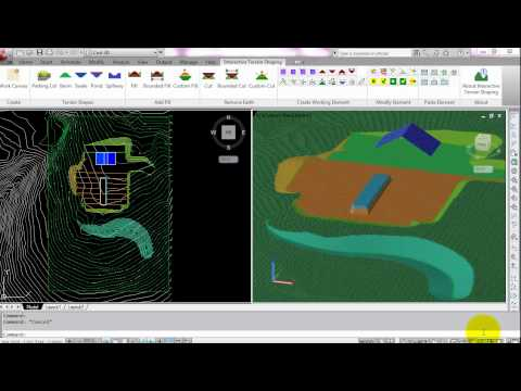 Autodesk Labs: Interactive Terrain Shaping for AutoCAD Civil 3D / AutoCAD Map 3D Overview