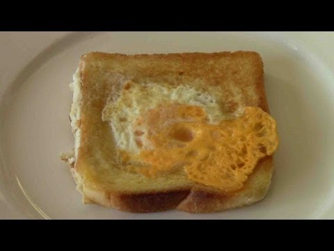 Egg in the Basket - RECIPE