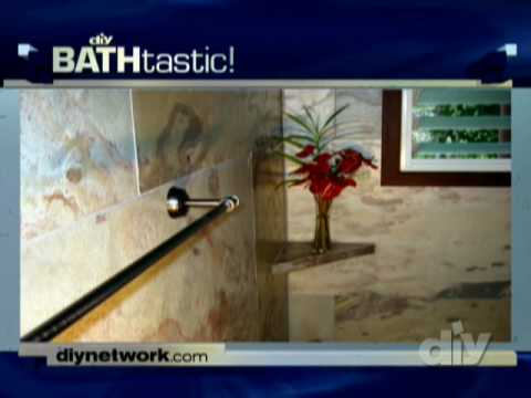 Stone Veneer Shower Panels-DIY
