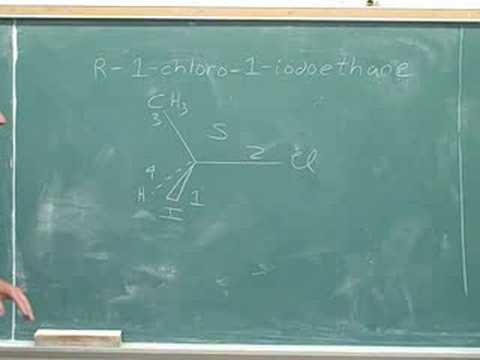 Organic chemistry: R and S naming (20)