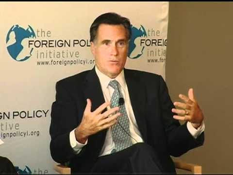 2009 FPI Forum: Luncheon with Governor Mitt Romney