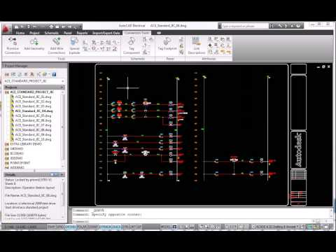 AutoCAD Electrical 2010 Data Migration Tools