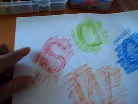 Toddler - Reading. Alphabet stencils