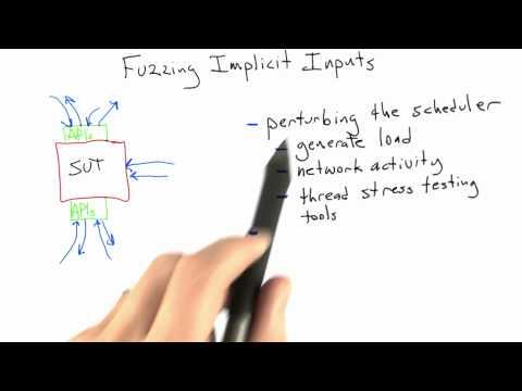 Fuzzing Implicit Inputs - Software Testing - Random Testing - Udacity