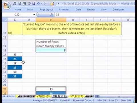 YTL Excel #116: Edit Recorded Macro
