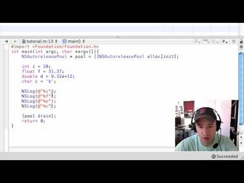 Objective C Programming Tutorial - 9 - Data Types and Other Stuff
