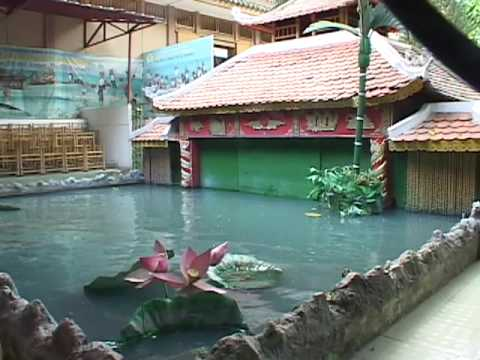 A Traditional Water Puppet Show in Vietnam
