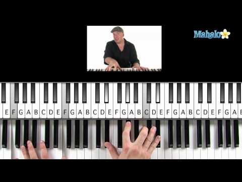 "How to Play ""Beautiful"" by Christina Aguilera on Piano"