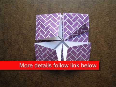 How to Fold Origami Diamond Coaster - OrigamiInstruction.com