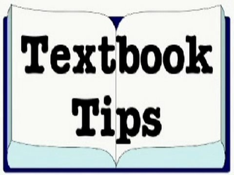 Textbook Tips