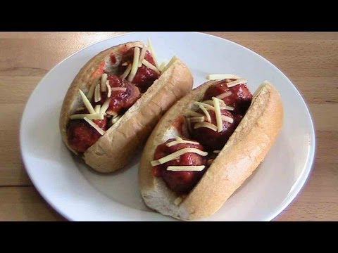 Quick Meatball Subs - RECIPE