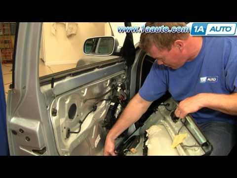 How To Install Replace Remove Front Door Panel Volkswagen Passat Wagon 1AAuto.com