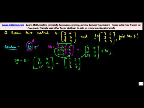 876. Solving Matrix Equation, when values of independent variables are given