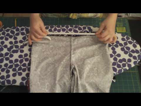 Learn to Sew 101 series - Making an Elastic Waistband Lesson #11 - by Puking Pastilles