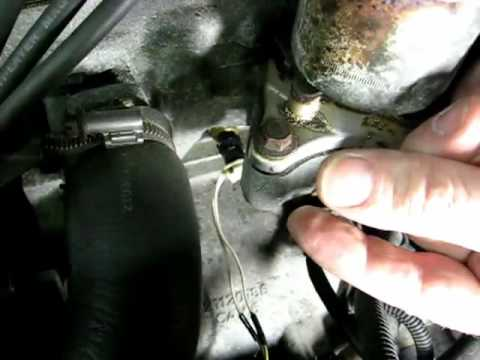 Engine Coolant Temperature Sensor Remove and Replace updated