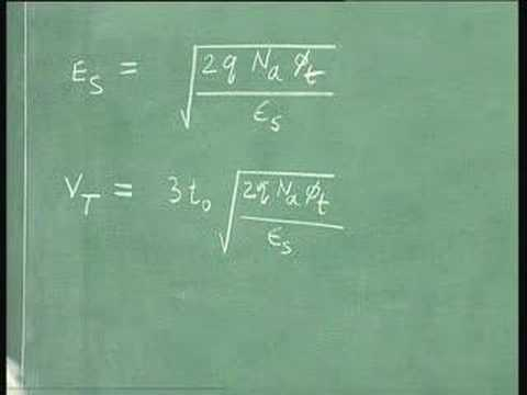 Lecture-34-Metal-Oxide-Semiconductor(MOS)Junction(Contd)