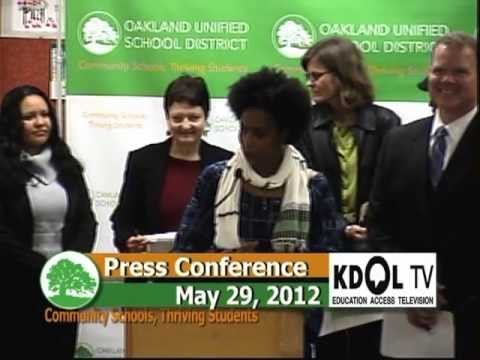 OUSD Press Conference on Creating Better Outcomes for Black Males