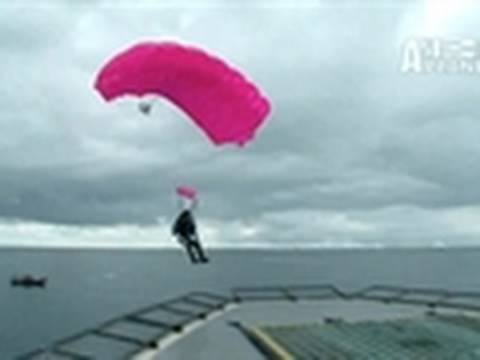 Whale Wars: Helicopter Freefall