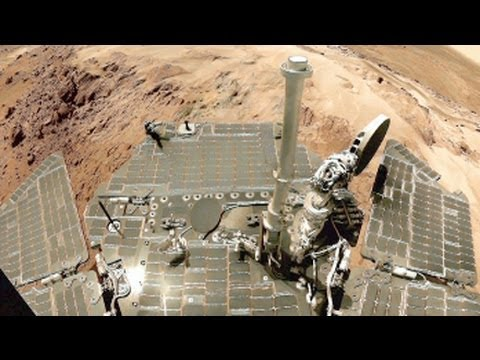 Spirit and Opportunity: Roving Mars' Landscape