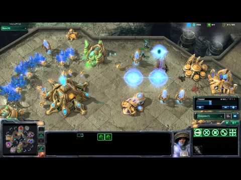 StarCraft 2 HD Gameplay - Pwnin with Colossus (Part 1/2)