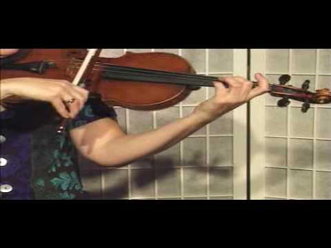 "Violin Lesson - Song Demonstration - ""Brahams Lullaby"""