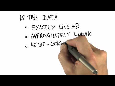Height vs Weight - Intro to Statistics - Programming - Udacity
