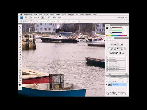 Photoshop: Navigating with the Hand and Zoom tools | lynda.com