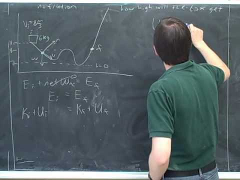 Physics: Work. Conservation of energy (5)