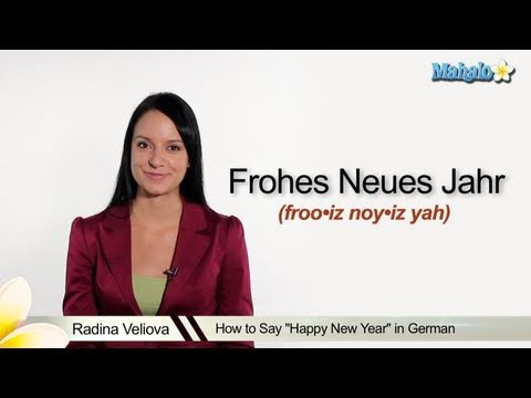 "How to Say ""Happy New Year"" in German"