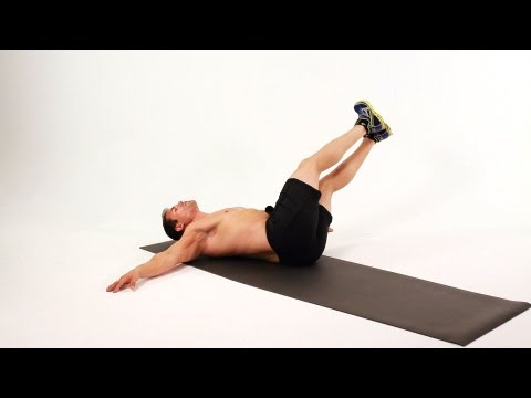 How to Do a Windshield Wiper   Home Ab Workout for Men