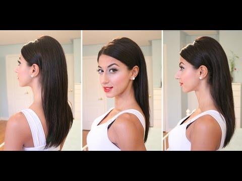 Sleek & Sexy Fall Hairstyle