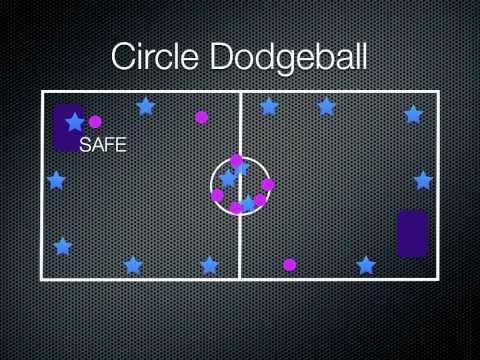 P.E. Games - Circle Dodgeball