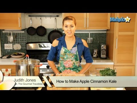 How to Make Apple Cinnamon Kale