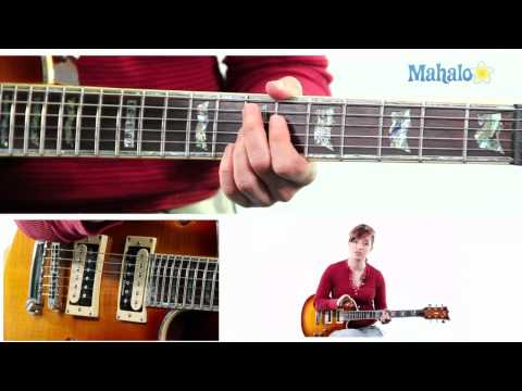 Mahalo Guitar Solo Course: Learning The Blues