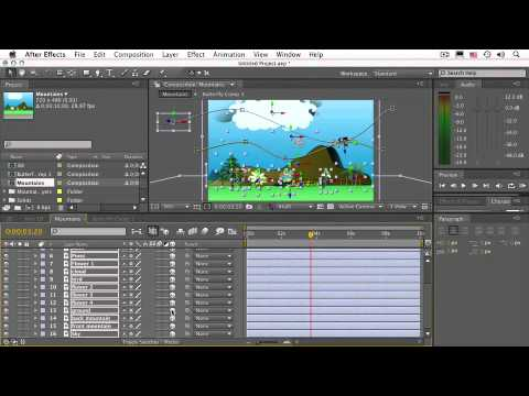 After Effects CS4 Essentials Setting up Animation