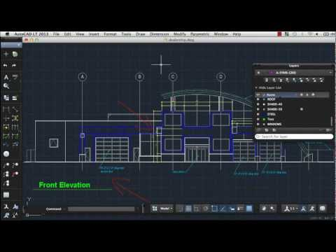 Create Text and Dimensions: AutoCAD LT 2013 for Mac