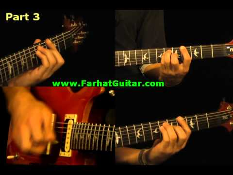 Holiday - Green Day Guitar Cover 3 www.FarhatGuitar.com