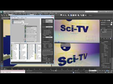 3ds Max 2013 Extension: Particle Flow Cache Operators